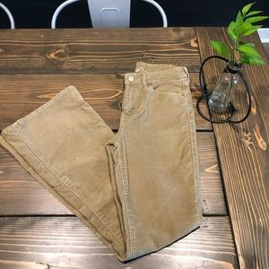 Levis Hight Waste Flared/Bell Jeans/corduroy